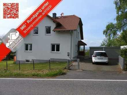 Fast neu: Zweifamilienhaus am Ortsrand! KEINE KÄUFERPROVISION