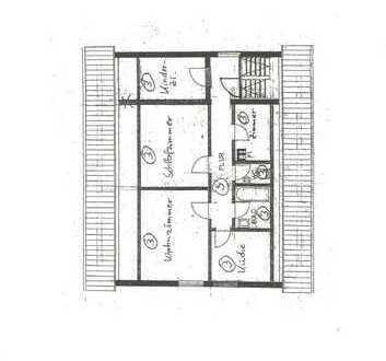 Schöne 3,5 Zimmer DG Wohnung in Leonberg