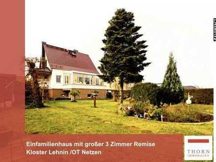 Schönes Einfamilienhaus mit 85m² großer Remise