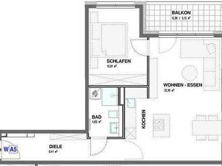 2 Zi.-Wohnung mit Balkon