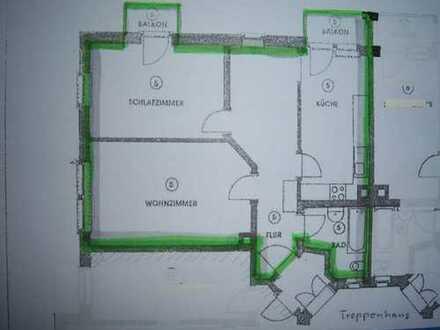 Helle 75 m²-Whg, Morgensonne, 2 Balkone, sanierte Dresden, Gruna