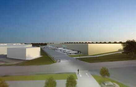 Projektentwicklung am Hanauer Kreuz! Q3 2019! provisionsfrei! bis 30.000 m² Lagerfläche!