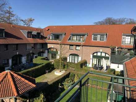 Alt-Schwafheim: Gehobene 3-Zimmer-Wohnung mit Balkon und Einbauküche im Schrapershof