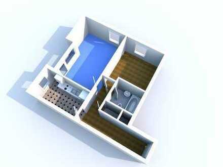 WBS erforderlich! - 2 Zimmer-Wohnung mit Balkon