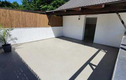 Wohnen wie im Haus über 2 Etagen mit 30m² Dachterasse