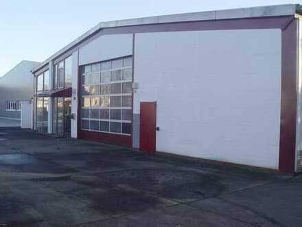Hallen-u.Produktionsfläche mit Waschplatz u. Büro