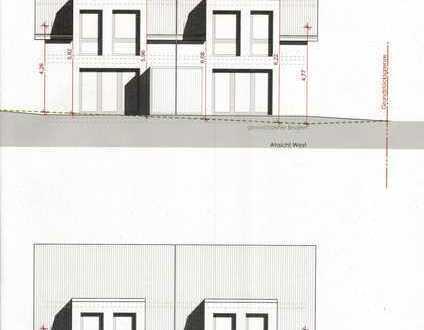 Neubau Doppelhaushälfte mit Carport und Fahrradraum