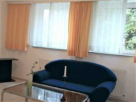 Nur an Einzelperson schöne, renovierte u. möblierte 47 qm Souterrain-Wohnung in 82335 Berg/Starnberg