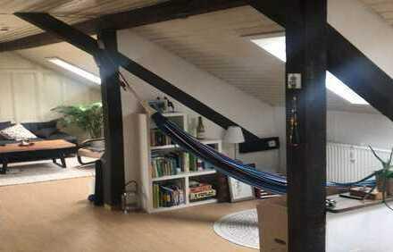 Ansprechende Dachgeschosswohnung in Karlsruhe