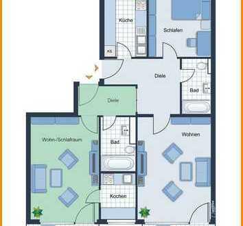 Zwei Wohnungen in einer - ideal für Mehrgenerationen oder Ganztagsbetreuung