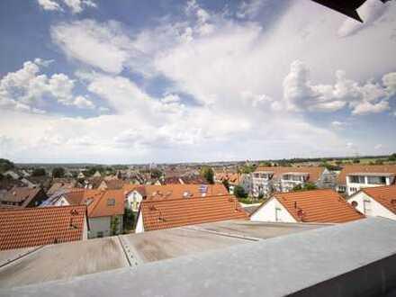 Gepflegte 3-4-Zimmer-Maisonette-Wohnung mit Aussicht
