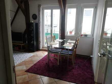 WG-Zimmer in saniertem Fachwerkhaus in Tübingen, Hirschau