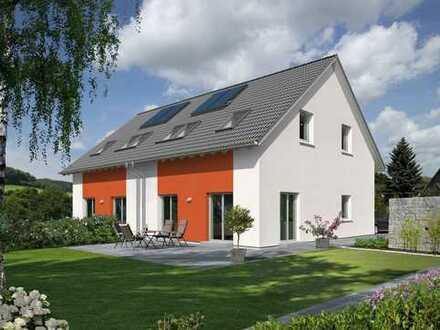 Attraktive Doppelhaushälfte auf dem Grundstück in Mundelsheim!