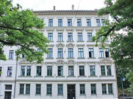 Aufzug im Haus - frisch sanierte Wohnung mit großem Balkon im Waldstraßenviertel