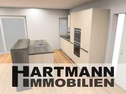Außergewöhnliche Neubau-Maisonette Wohnung in Schwanheim!