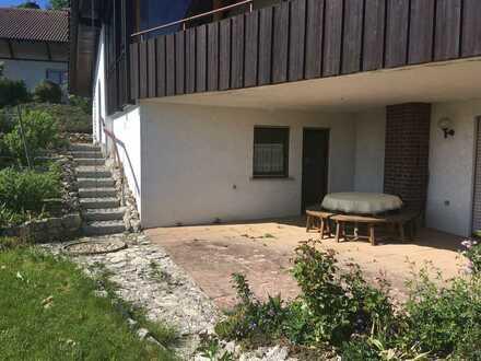 Modernisierte 1-Zimmer-Wohnung mit EBK in Irndorf