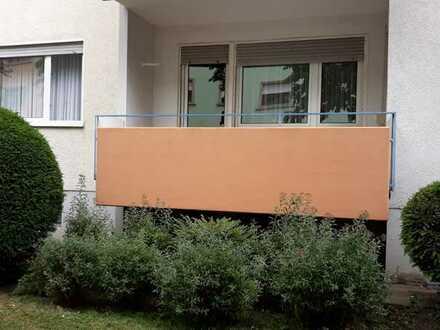 Exklusive, gepflegte 3-Zimmer-Hochparterre-Wohnung mit Balkon und Einbauküche in Karlsruhe