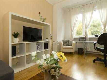 Immobilien-Richter: Top ausgestattete 2-Zimmer-Wohnung MÖBLIERT, Südbalkon