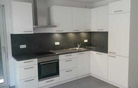 Moderne, neuwertige 3-Zimmer-Wohnung mit Einbauküche in Karlsfeld, 1.OG mit SW-Balkon/Loggia