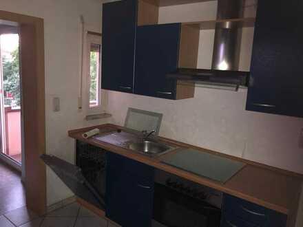 Gepflegte 5-Raum-Wohnung mit Balkon und Einbauküche in Groß-Rohrheim