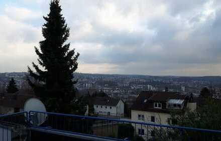 sonnige 2-Zimmer-Dachgeschosswohnung mit Balkon in Zweibrücken