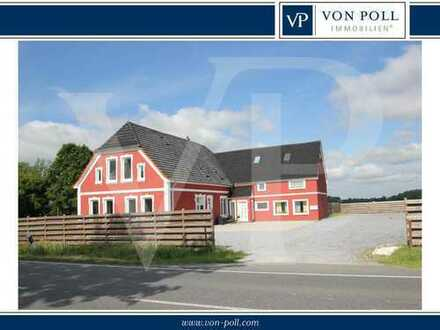 Großes Wohnhaus in der Gemeinde Ovelgönne bei Brake