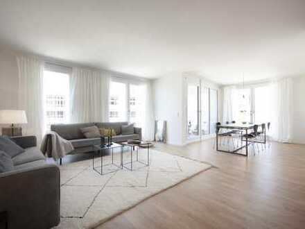 + 4-Zimmer Neubau Wohnung mit Blick über München + TOP Infrastruktur +
