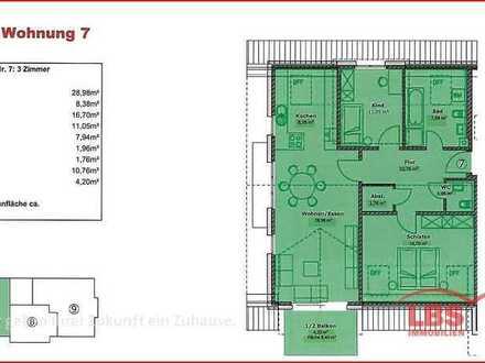 Neubau von Eigentumswohnungen im Zentrum von Stühlingen