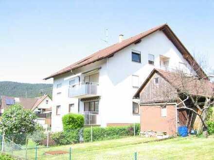 Kapitalanlage - Schön gelegene vermietete 3-Zimmer-Wohnung in Loffenau