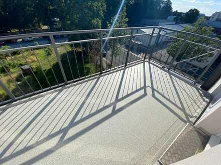 * 3. Bauabschnitt * moderne 4-Zi.-Whg. mit großem Balkon *
