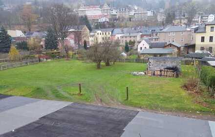 2.110 m² Bauland für bis zu vier EFH, Klingenthal, zentrale Lage, Medien in der angrenzenden Straße