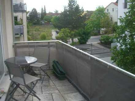 Gepflegte, ruhige 3-Zimmer-Wohnung mit Balkon in Erlangen, Schwabachgrund