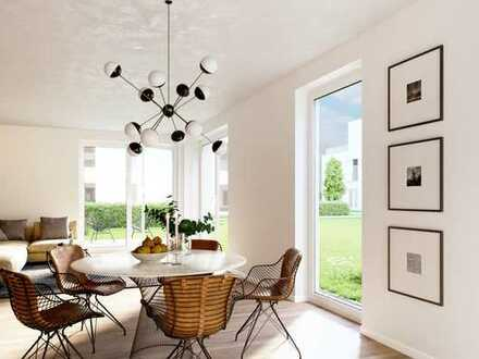 Stilvolle 3-Zimmer-Wohnung mit Garten