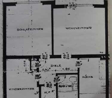 Gepflegte 4-Zimmer-Wohnung mit Balkon in Hohenlimburg