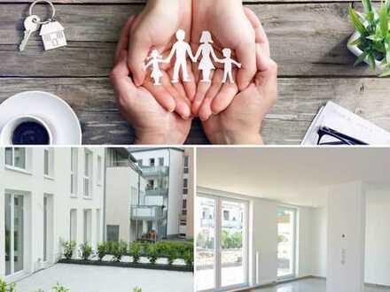 FAMILY FIRST! 3-Zimmer-Erdgeschosswohnung