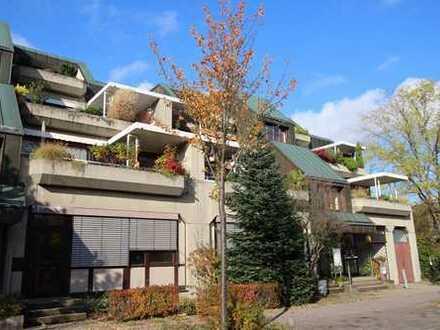 Kapitalanlage! 2 ZKB, ca. 50m²in KA- Waldstadt, mit 15m² Terrasse, inkl. TG-Stellplatz