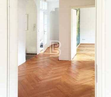 FR-Oberau: Stilvolle 4-Zimmer-Wohnung mit Balkon