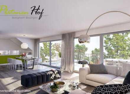 Exklusive Penthouse-Wohnung mit 2 Bädern und über 30 m² Dachterrasse