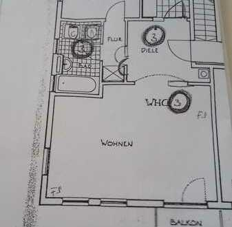 Gut aufgeteilte 2-Zimmer-Wohnung in Greding, Mühltal in ruhiger Lage