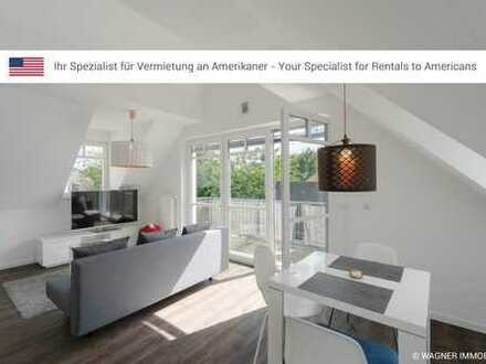Modern, furnished apartment near Clay Kaserne