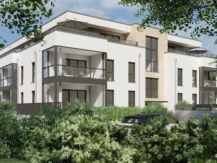 Dietzenbach-Hexenberg, architektonisch gelungenes Neubauprojekt - 2-Zimmer-Gartenwohnung
