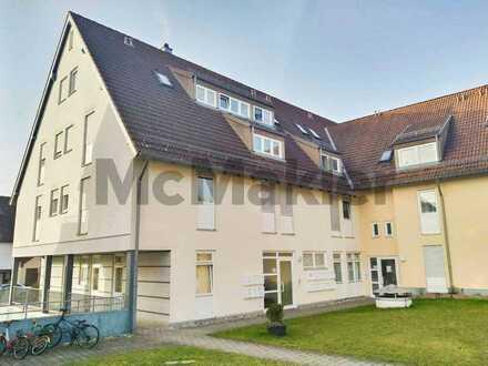 Helle 2-Zimmer-Wohnung mit schönem Balkon im gut angebundenen Oberjesingen