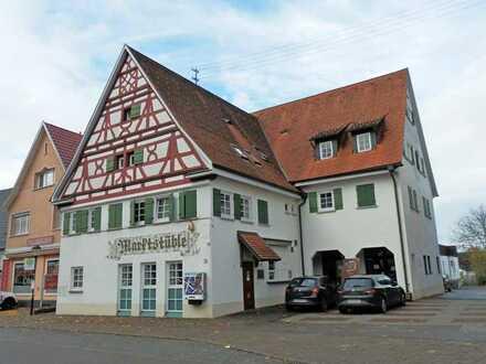 Interessantes Lokal im Ortskern von Winterlingen
