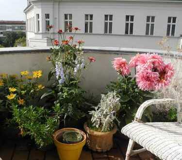 Bild_Stilvoll möblierte Wohnung mit Altbaucharme in Traumlage am Savignyplatz