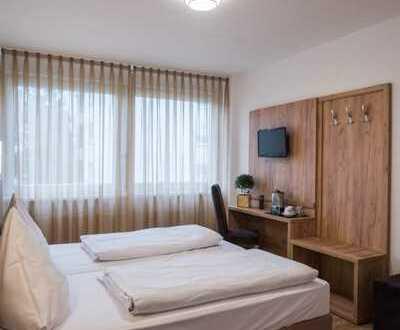 Voll möbliertes Zimmer mit KFZ-Stellplatz direkt am KIT Camus Nord