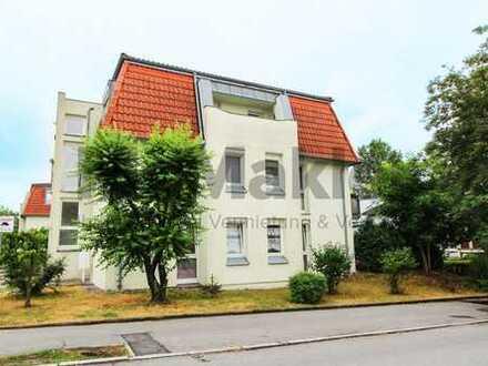 Wohnen an der Sächsischen Weinstraße: 2-Zi.-Apartment mit Terrasse und Stellplatz nahe Dresden