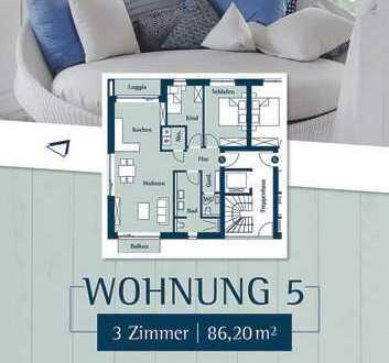 Erstklassige 3 Zimmerwohnung im 1.OG, Husum Klostergarten