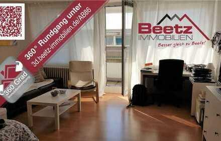 Sonnendurchflutetes 1-Zimmer-Apartment mit Ausblick in die Rheinebene zu verkaufen