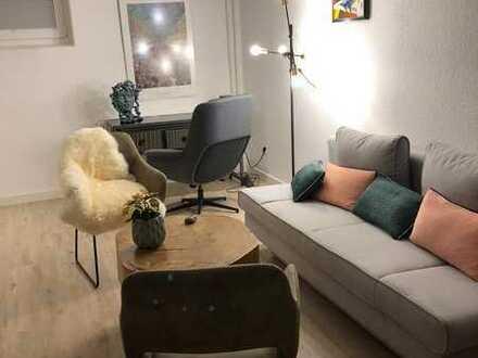 Modernisierte 3-Zimmer Souterrain Wohnung mit Einbauküche in Reinheim