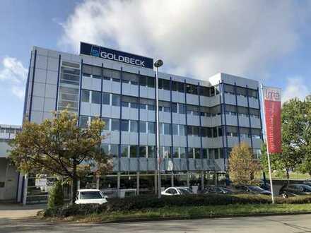 Flexibel teilbare Büroflächen bis zu 1.144m² verfügbar